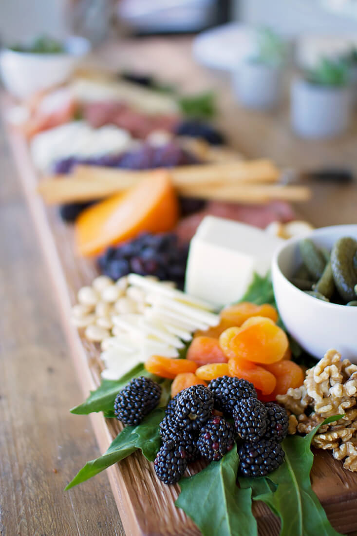 beautiful cheese board | Amanda Mathson Photography